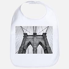 Brooklyn Bridge New York City close up archite Bib