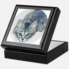 Kitten Has Acquired The Target - Keepsake Box