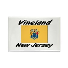Vineland New Jersey Rectangle Magnet
