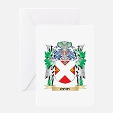 Cory Coat of Arms - Family Crest Greeting Cards