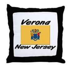 Verona New Jersey Throw Pillow