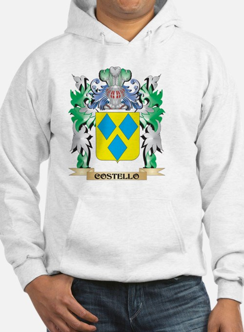 Costello Coat of Arms - Family C Hoodie