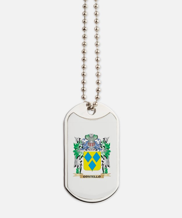 Costello Coat of Arms - Family Crest Dog Tags