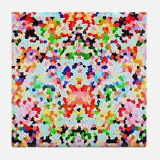 Cute Confetti Tile Coaster