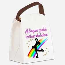 SKATING QUEEN Canvas Lunch Bag