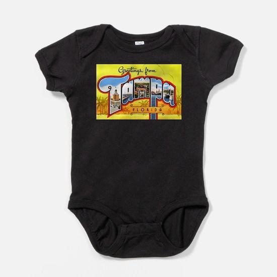 Cute Florida vintage Baby Bodysuit