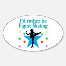 SKATER DREAMS Sticker (Oval)
