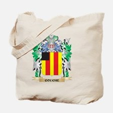 Couche Coat of Arms - Family Crest Tote Bag