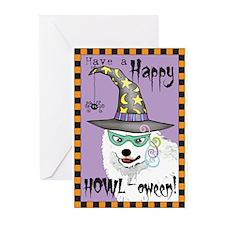 Cute Eskimo dog Greeting Cards (Pk of 20)