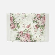 Cute Floral Rectangle Magnet