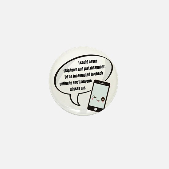 Disappear Quote Mini Button (100 pack)