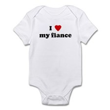 I Love my fiance Infant Bodysuit