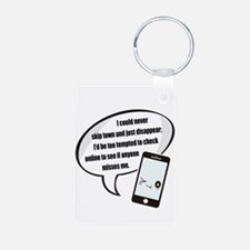 Disappear Quote Keychains