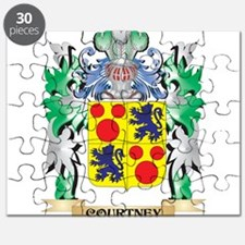 Courtney Coat of Arms - Family Crest Puzzle