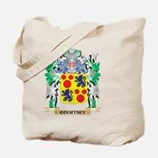 Courtney Coat of Arms - Family Crest Tote Bag