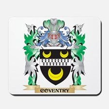 Coventry Coat of Arms - Family Crest Mousepad