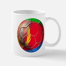 Eritrea Soccer Ball Mug