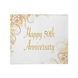 50th anniversary Blankets