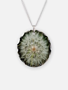 Cute Dandelion art Necklace