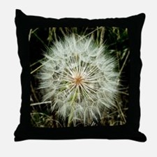 Funny Dandelion Throw Pillow