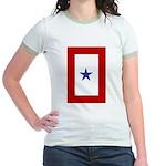 Military service Jr. Ringer T-shirt