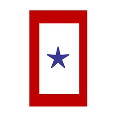 Military service Rectangle Decal