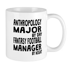 Anthropology Major Fantasy Football Mugs