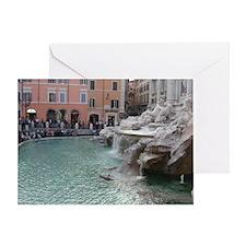 Trevi Fountain Anniversary Card