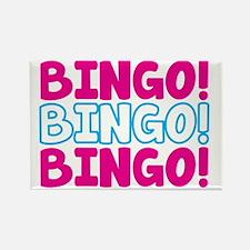 BINGO BINGO BINGO Rectangle Magnet