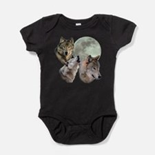 Unique Jacob black Baby Bodysuit