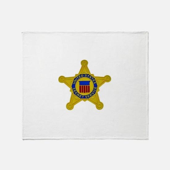 US FEDERAL AGENCY - SECRET SERVICE Throw Blanket