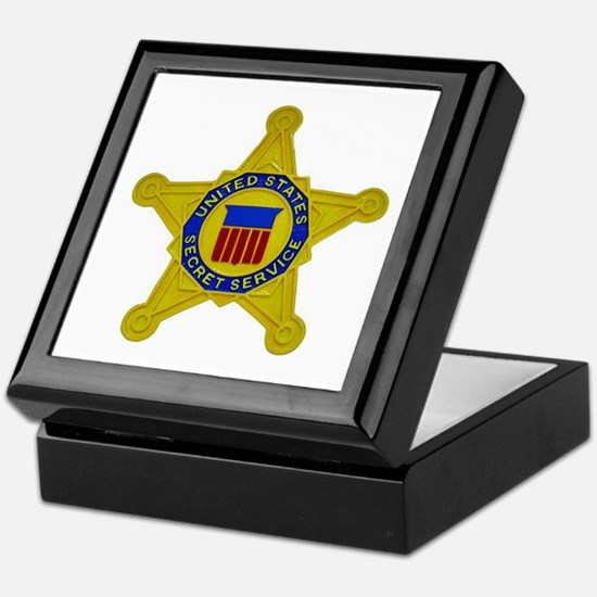 US FEDERAL AGENCY - SECRET SERVICE Keepsake Box