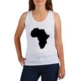 Africa continent Tanks/Sleeveles