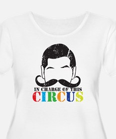 In charge of this circus Distres Plus Size T-Shirt