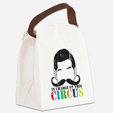 In charge of this circus Distress Canvas Lunch Bag