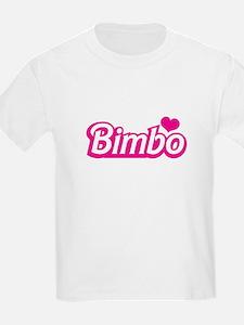 Bimbo with a love heart T-Shirt