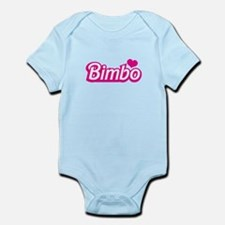 Bimbo with a love heart Body Suit