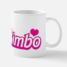 Bimbo with a love heart Mugs