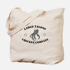 Large Talons Chicken Company Tote Bag