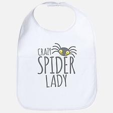 Crazy Spider lady Bib