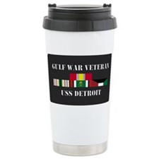 Cute Military ribbons Travel Mug