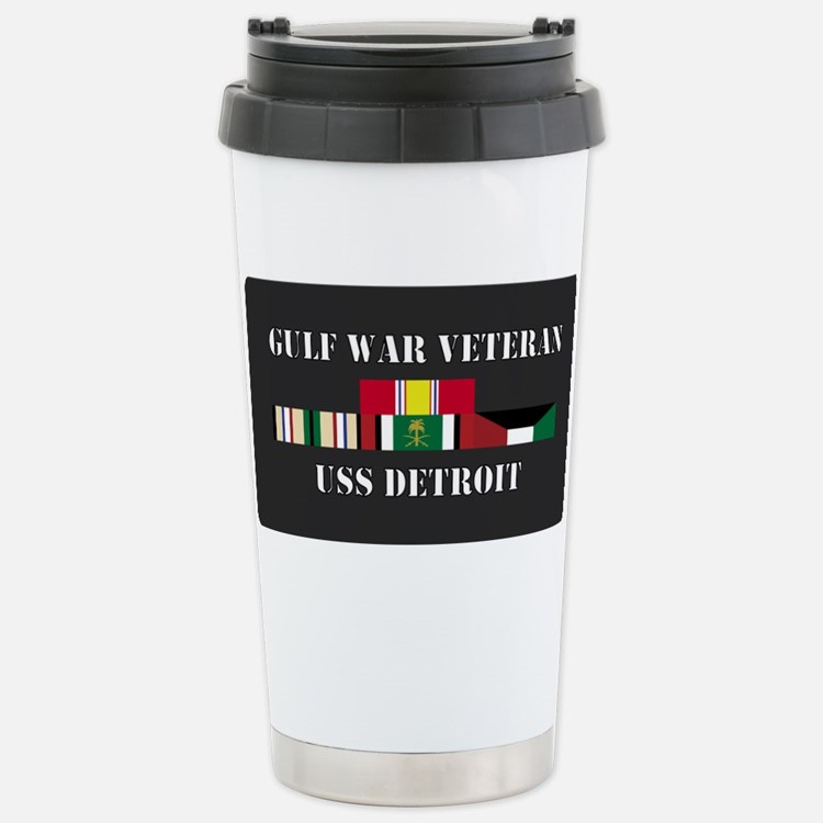 Cute Uss detroit Travel Mug