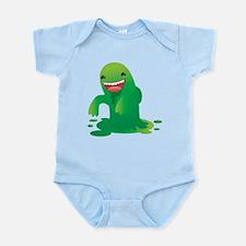 Green boogie monster Body Suit
