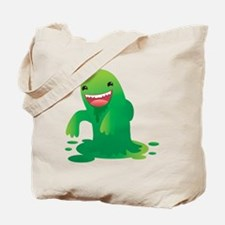 Green boogie monster Tote Bag