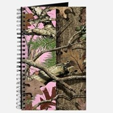 Cute Pink camouflage Journal