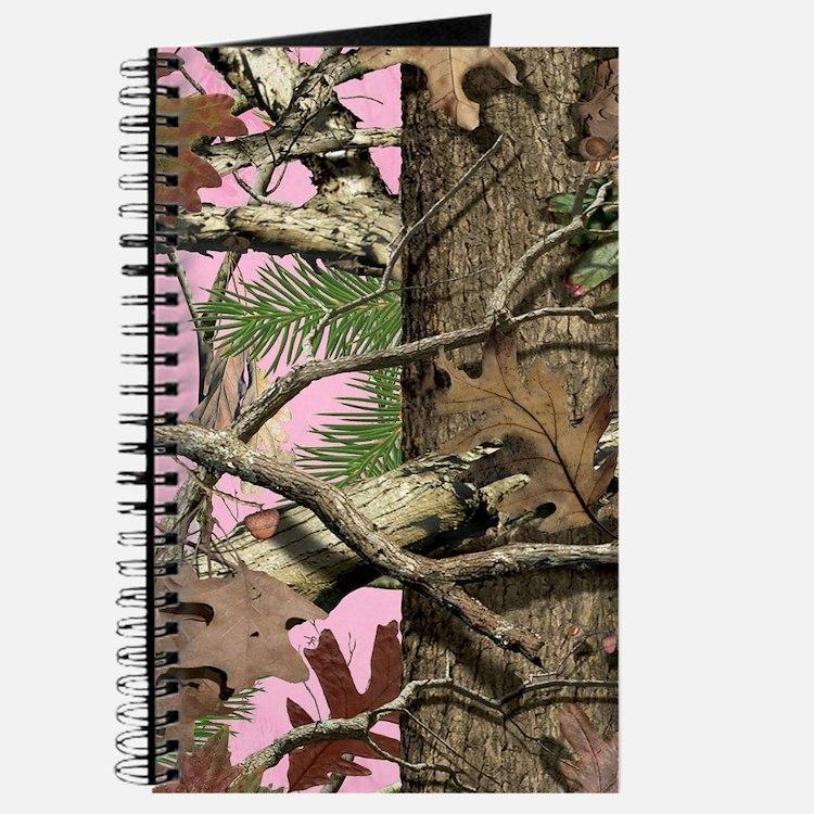 Cute Pink camo Journal