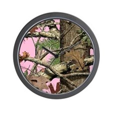 Cute North woods Wall Clock