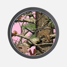 Cute Camouflage Wall Clock