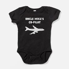 Uncles Co-Pilot Baby Bodysuit