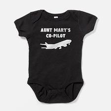 Aunts Co-Pilot Baby Bodysuit